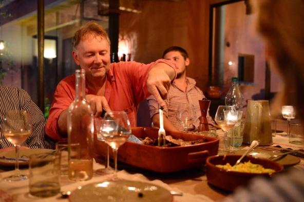 la table dhote et ses convives