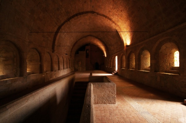 abbaye thoronet interieur