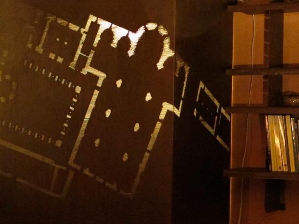 plan abbaye du Thoronet decoupe au laser dans la tole