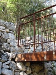pont et garde corps fer forge
